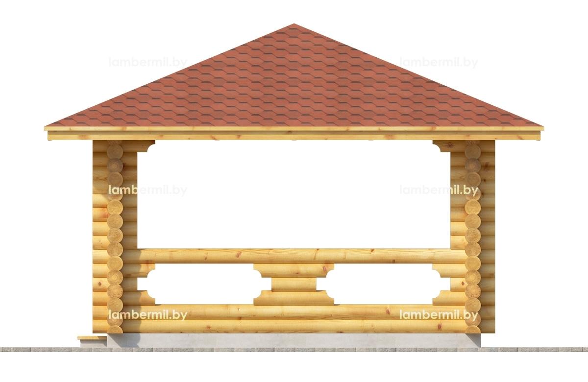 Заказать деревянную беседку Брест