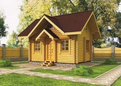 Проект деревянного дома 038