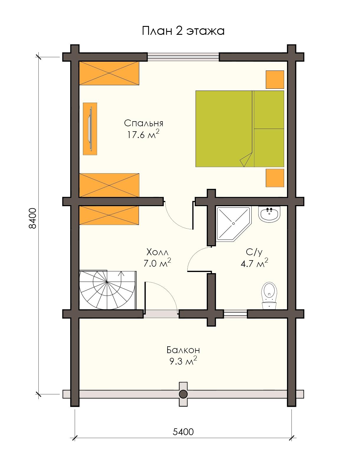 Проект дома 078 Ламбермил