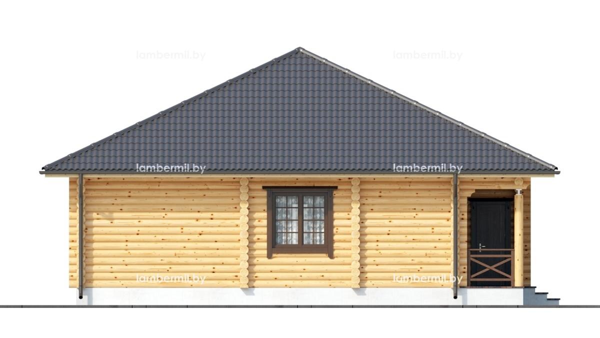 Проект деревянного дома 115
