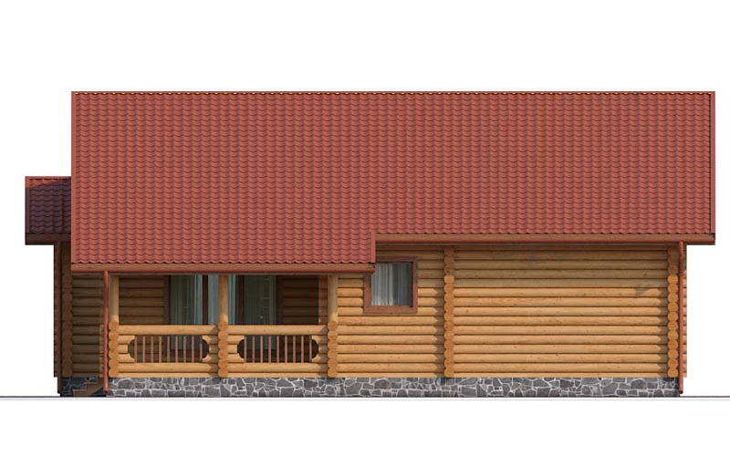 Проект деревянного дома 122