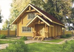 Деревянный дом Минск