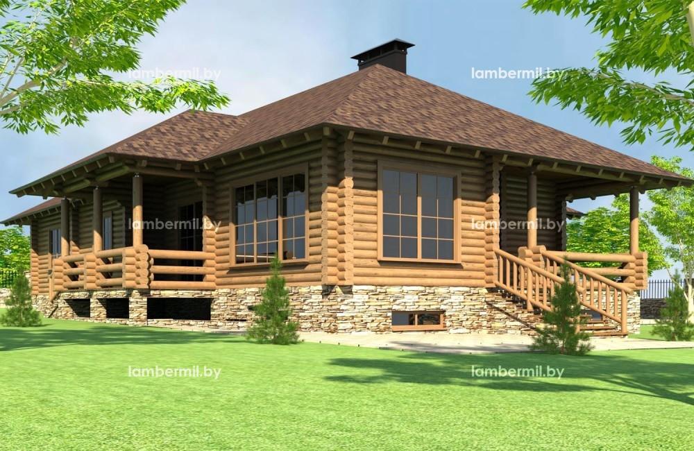 Купить деревянный дом 200 м