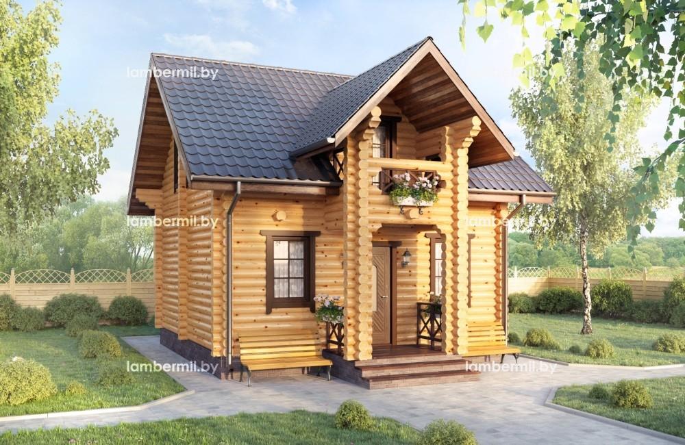 Купить деревянный дом дачу