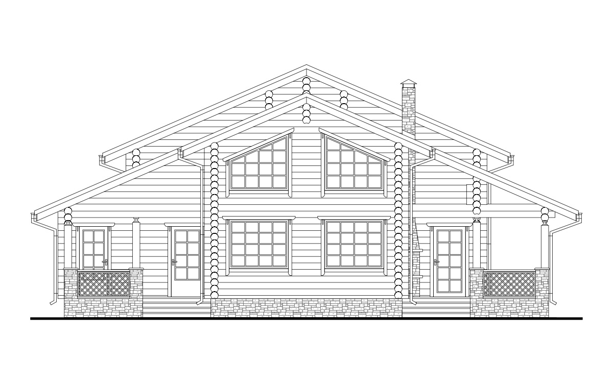 Проект дома 152