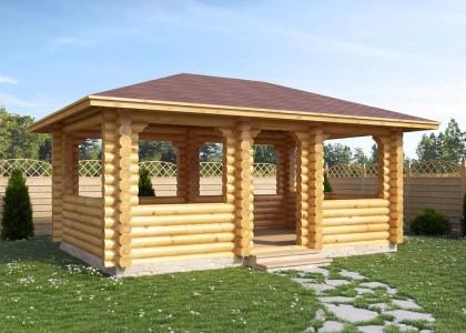 Купить деревянную беседку Барановичи
