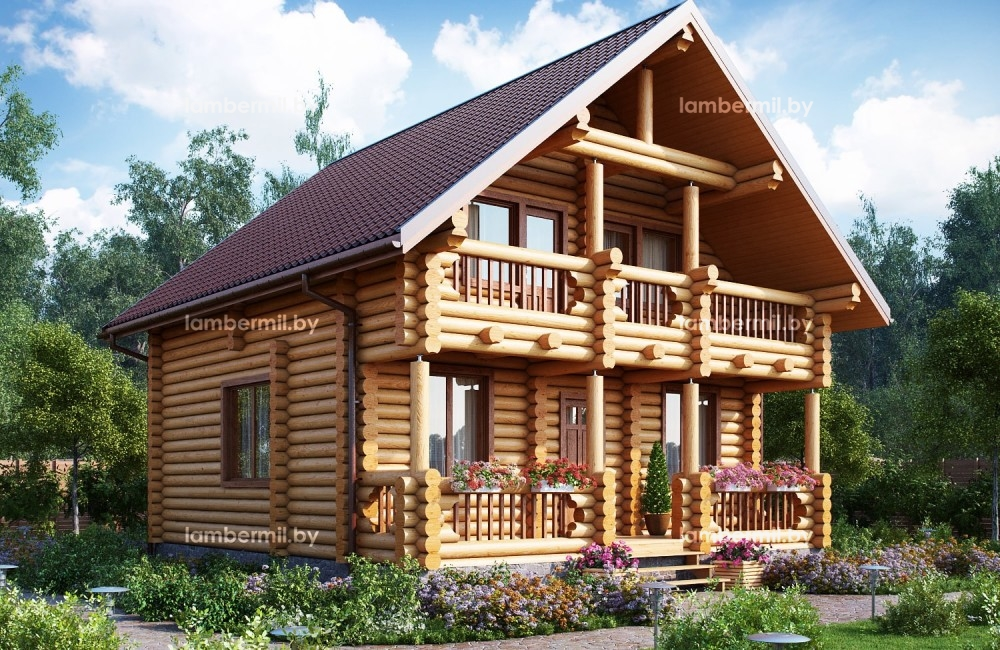 Купить деревянный дом в Беларуси