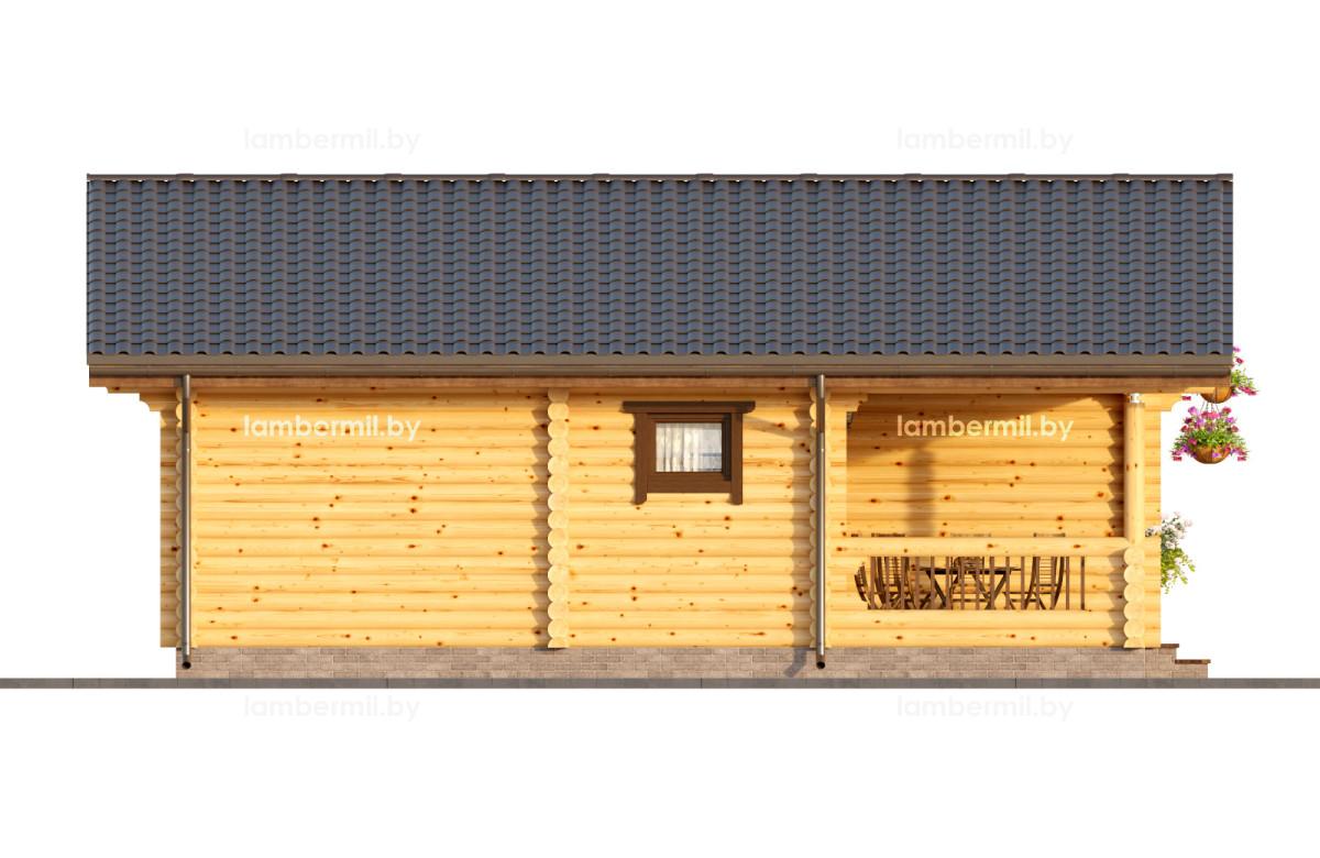 Проект деревянного дома 079