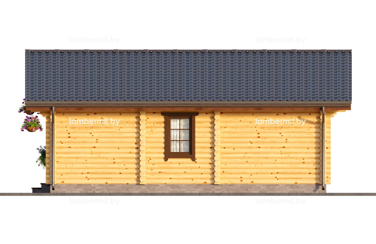 Купить деревянный дом 079