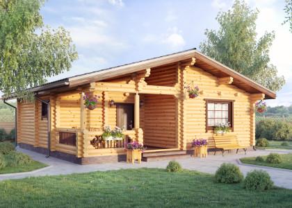 Заказать деревянный дом 9 х 9