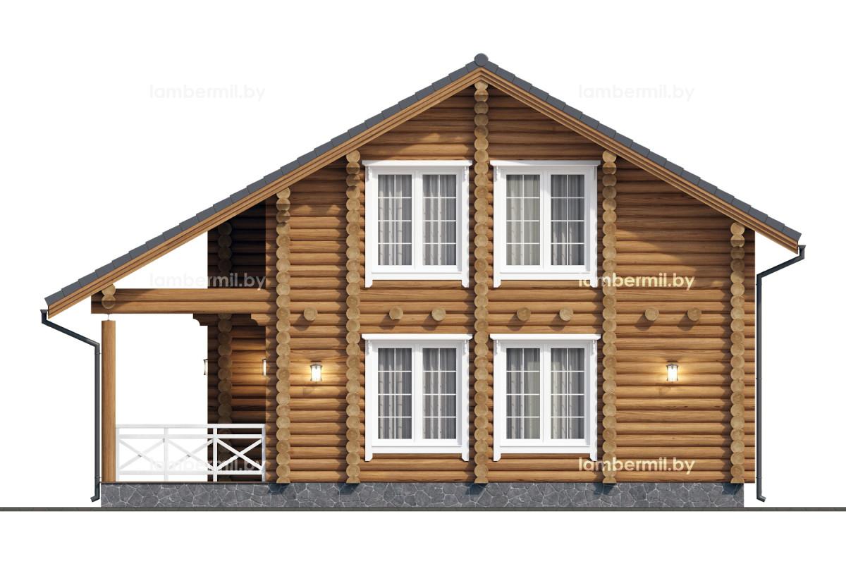 Деревянный дом купить в Миске