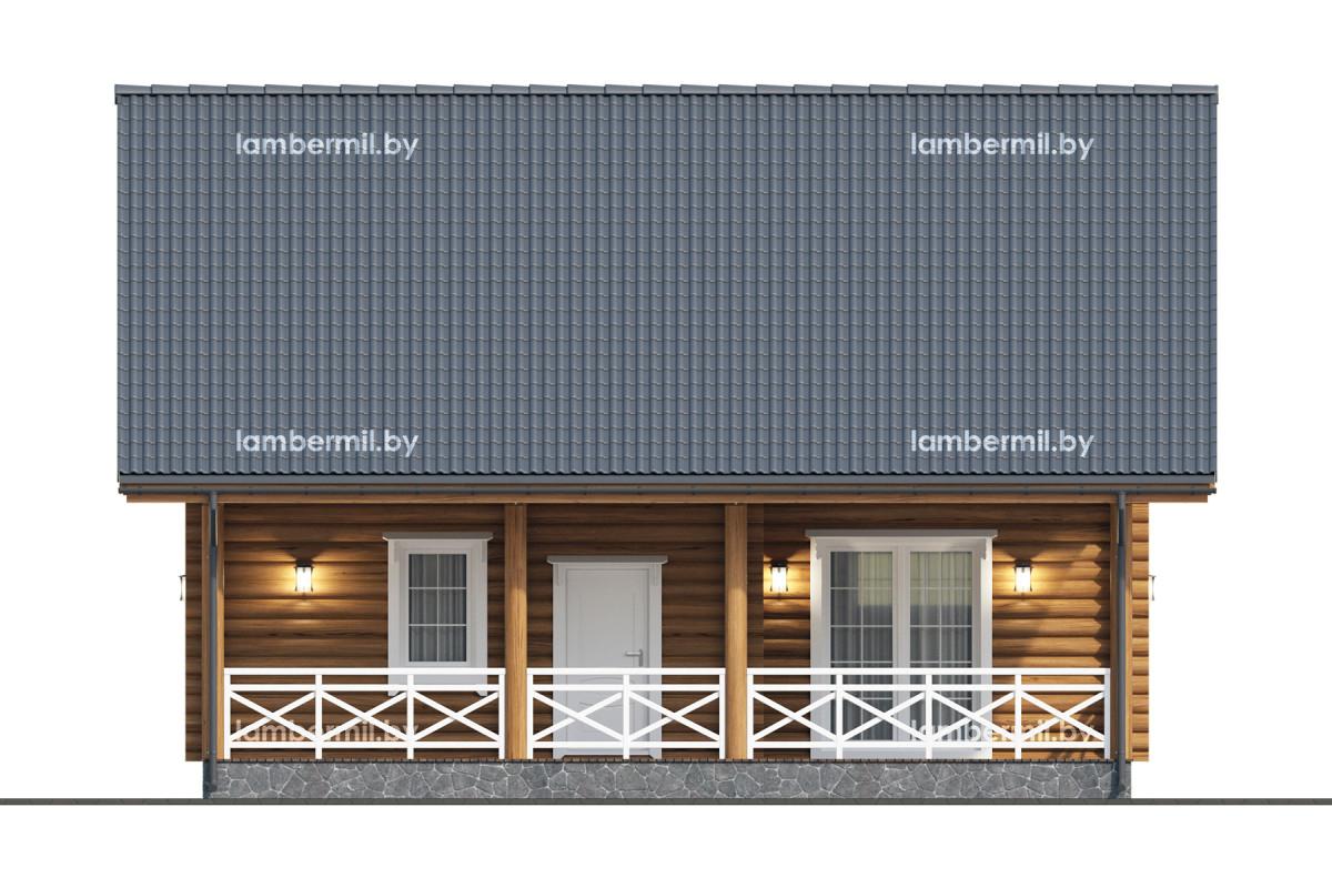 Большой деревянный дом купить